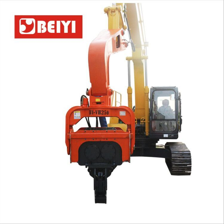 BY-VH350 Vibratory pile driver-hydraulic pile hammer
